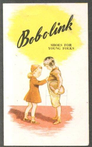 Bob-O-Link Shoes for Young Folks folder ca 1950s
