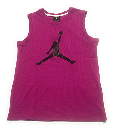 Jordan Girls Mesh Tank Top Fuschia Flash Large (12-13 Years) by Jordan