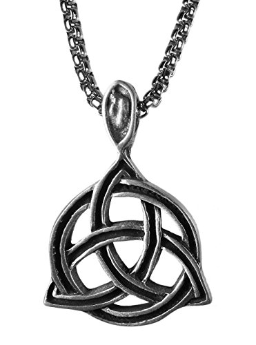 Exoticdream Triquetra Celtic Knot Trinity Triskele Pewter