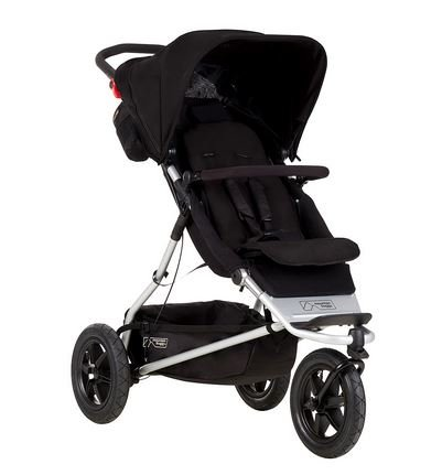 Mountain Buggy +One Stroller with Second Seat & Cocoon, Black (Mountain Buggy Duo Stroller)