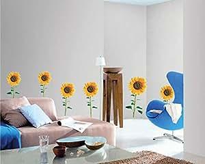 StickieArt - Sunflowers Wall Decal - Medium - 50 x 70 cm - STA-166