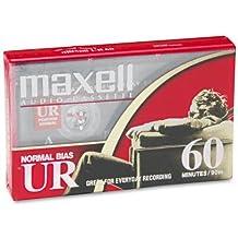 Maxell UR-60 Audio Cassette- Box of 10