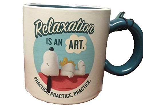 Hallmark ''Relaxtation Is an Art'' Peanuts Movie Mug by Hallmark