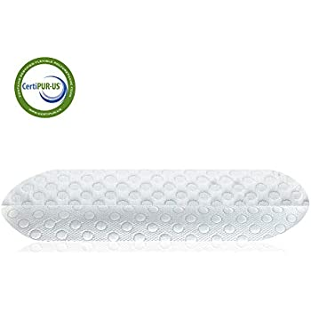 Milemont Memory Foam Pillow, Bed Pillow for Sleeping, Pillow for Neck Pain, Neck Support for Back, Stomach, Side Sleepers, CertiPUR-US, Standard Size