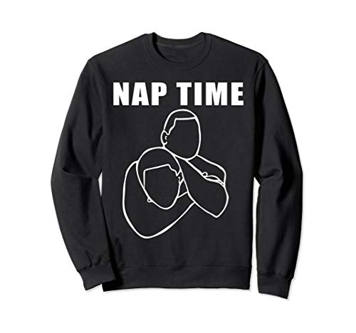 Funny Jiu Jitsu Shirt Bjj Tees Nap Time Mma Fighter T-Shirt Sweatshirt]()