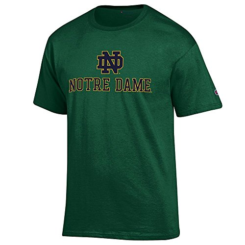 Notre Dame Fighting Irish Fan (Notre Dame Fighting Irish TShirt Green - M)