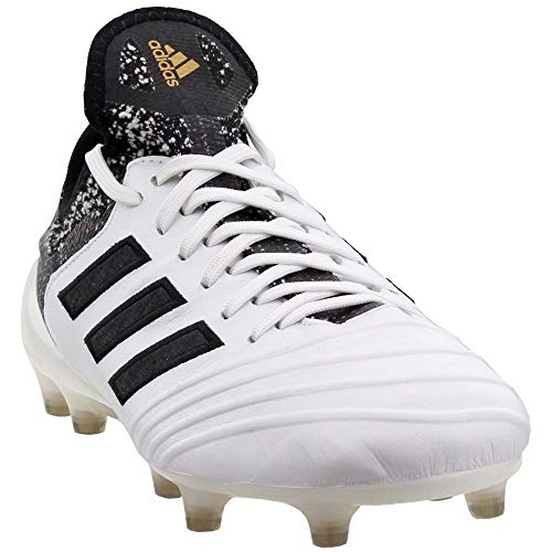 adidas Mens Copa 18.1 Firm Ground Soccer Casual Cleats, White, 8