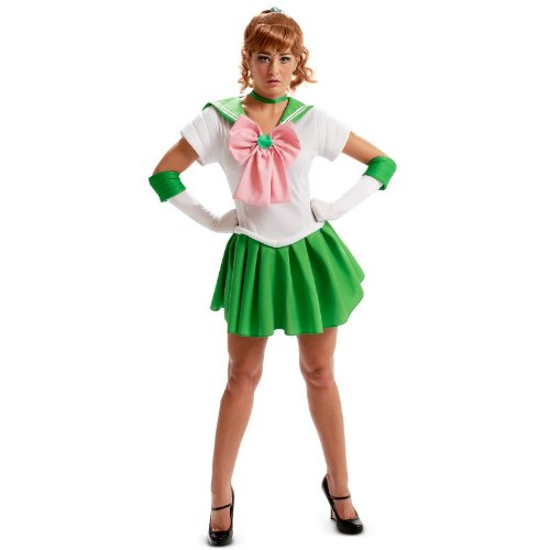 InCogneato Sailor Moon Jupiter Teen Costume