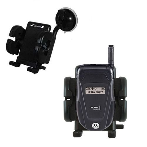 patible with Motorola ic502 for the Car / Auto - Flexible Suction Cup Cradle Holder for the Vehicle ()