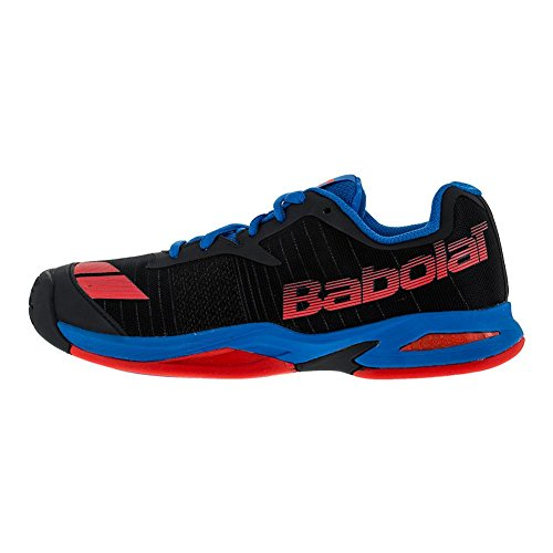 Babolat, Scarpe da tennis bambini Grey/Blue/Red UK K13.5