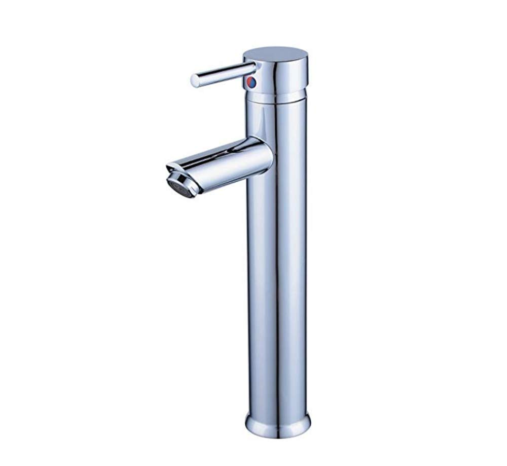 Edelstahl Einhand Mischer Einhebel Waschtischarmatur Waschtischarmaturen Waschtischarmaturen Chrom-Messing-Mischbatterie