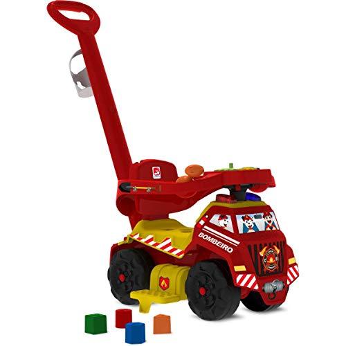 Veiculo Para Bebe, Brinquedos Bandeirante, Vermelho