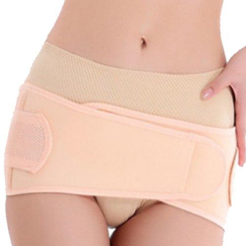 EQMUMBABY Postnatal Erholung Beckengürtel nach der Geburt Body Slimming Form Beckengurt Fitnessband Shaping - Größe L