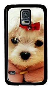 Adorable Dog Samsung Galaxy S5 Black Sides Hard Shell Case by Sakuraelieechyan by Maris's Diary