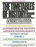The Timetables of History, Bernard Grun, 0671249878