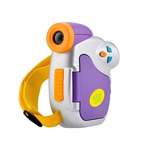 LEDMOMO AMKOVC7 Nuevo Mini Kids Cute Cámaras Digital de 1.3MP Pantalla en Color DE 1.5 Pulgadas 1080P Video CAM de Alta...