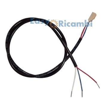 Cable Cable conector 3 pines 035 X L710 para aspiradores humo para estufa de pellets: Amazon.es: Hogar