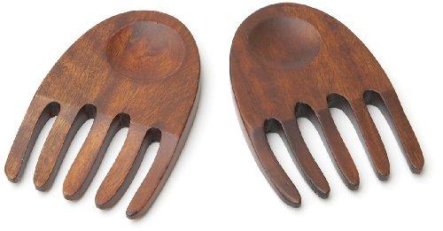 Woodard & Charles Wood Salad Hands, 6-Inch, ()