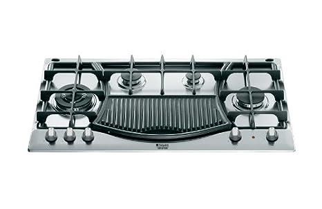 Hotpoint Ariston - Piano cottura a gas PH 941MSTB GH/HA finitura ...