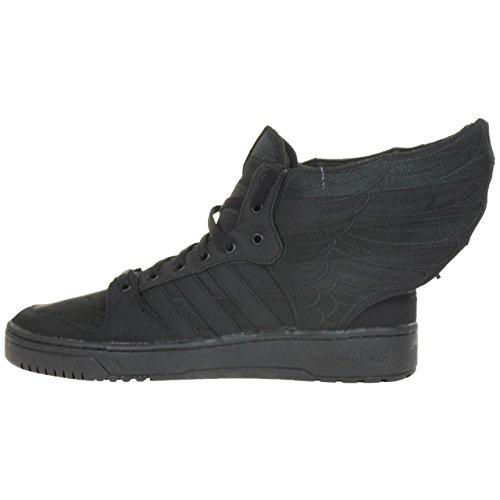 Adidas Originals JS Wings 2.0 Black Flag Jeremy Scott Sneaker Schuh Schuhe schwarz D65206 Schwarz