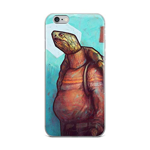Alpaca Turtleneck Sweater - iPhone 6 Plus/6s Plus Case Anti-Scratch Creature Animal Transparent Cases Cover Turtle Neck Sweater Animals Fauna Crystal Clear