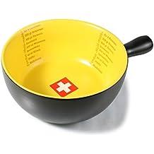 Artestia Ceramic Cheese Fondue Cooking Pot --- Swiss Classic