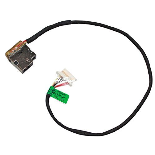New Laptop AC DC Power Jack Socket Connector with wire Cable Harness For HP Pavilion P/N No. 799749-Y17 - Jack Power Notebook