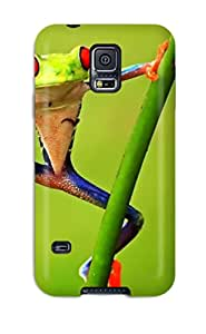 LLOYD G ENGLISH's Shop 9270643K97601438 Case Cover Colorful Frog/ Fashionable Case For Galaxy S5
