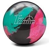 Brunswick T-Zone Glow PRE-DRILLED Bowling Ball- Razzle Dazzle