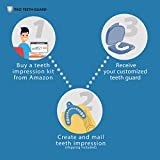 Pro Teeth Guard, Bruxism Mouth Guard for Men - Hard Night Guard for Heavy to Severe Teeth Grinding – Custom-Made Dental Guard, Moldable Mouth Guard for Grinding