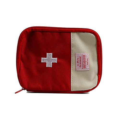 CHINA UK Erste-Hilfe-Kit Medizinische Tasche Notfall-Tasche. Drogenumwelt rot