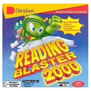 Reading Blaster 2000 ages 6-9 - Blaster Knowledge Reading Adventure