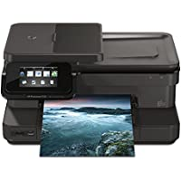 HP Photosmart 7525 e-All-in-One Inkjet Printer: 4.3 Touch Screen , Wireless, Duplex Print, Copy, Scan, Fax