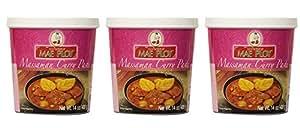 Mae Ploy Thai Matsaman (Massaman) Curry Paste - 14 oz jar (Pack of 3)