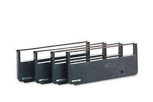 Tally Black Fabric Ribbon Cartridge - 080294 Tallygenicom Black Fabric Ribbon Cartridge - Black - Dot Matrix - 1 Box