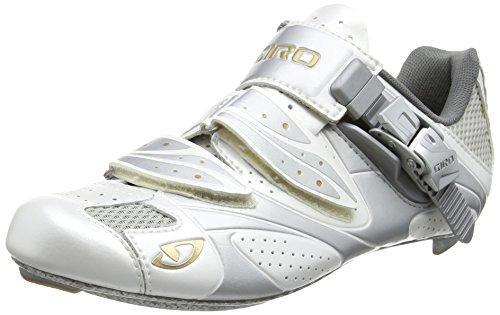 2012 Giro Women's Espada Cycling Shoes White / Silver UK 4 / EU 37.5 / US 6