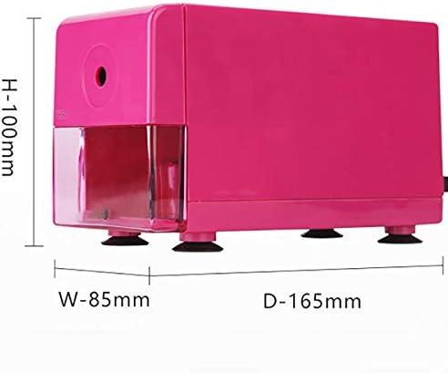 ABS充電式電動鉛筆削り、多機能携帯電気削り、ホーム、オフィス、学校、アーティスト,ピンク