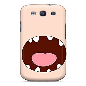 Premium Durable Finn Adventure Time Cartoons Fashion Galaxy S3 Protective Cases Covers