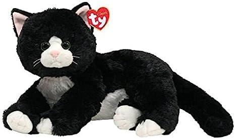 Ty 10037 - Gato de peluche en color negro Shadow [importado de Alemania] - 33 cm: Amazon.es: Juguetes y juegos