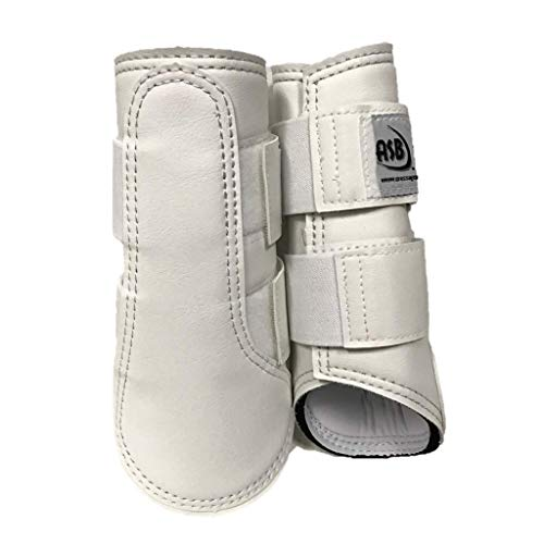 (All Sport Horse Boots, Large, White,)