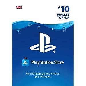 PlayStation PSN Card 10 GBP Wallet Top Up | PS5/PS4/PS3 | PSN Download Code – UK account