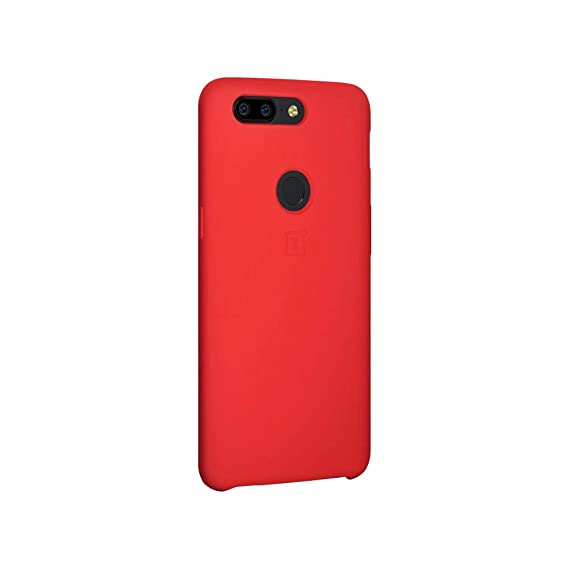 quality design 57460 9b551 Amazon.com: 1 PC Oneplus 5T Silicone Case Protective Case Cover Red ...