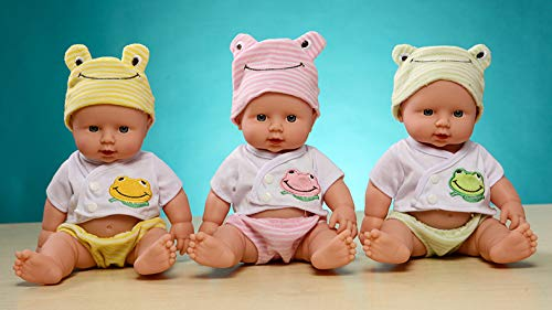 Boy Doll Baby Born Toys For Kids Gift Realistic Doll Reborn Baby Dolls For Silicone Reborn Dolls 1/12 Soft Toy Baby boy (Pink)