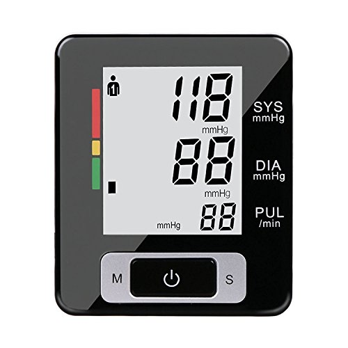 Detech Wrist Blood Pressure Monitor Accurately Irregular Heartbeat BP Adjustable Wrist Cuff