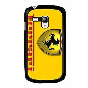 Classic Scuderia Ferrari Phone Case Cover for Samsung Galaxy S3 Mini Ferrari Yellow Background