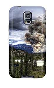 Evelyn Alas Elder's Shop 5495040K13324830 New Tpu Hard Case Premium Galaxy S5 Skin Case Cover(cloud)