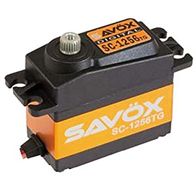 Savox SC-1256TG High Torque Titanium Gear Standard Digital Servo: Toys & Games