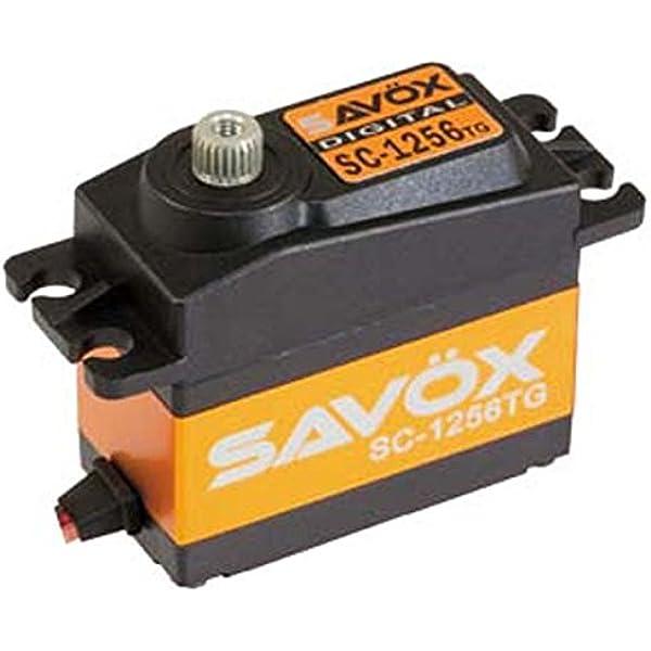 Savox SC-1258TG Coreless Digital Servo Free Aluminium servo horn Gold
