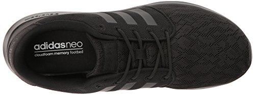 adidas Women's Cloudfoam QT Racer Running Shoe Black/White, 5.5 B - Medium by adidas (Image #8)