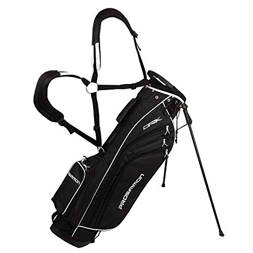 "PROSiMMON Golf DRK 7"" Lightweight Golf Stand Bag with Dual"